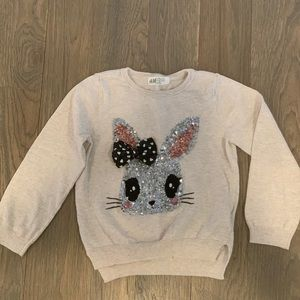 H&M cozy sweater size 4/6 y